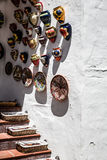 Typical souvenir shop in the white village of Mijas, in Costa de Royalty Free Stock Images