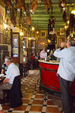Typical spanish bar in Sevilla Stock Photo