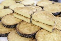 Typical Spanish cream homemade pie Stock Photo