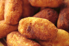 Typical Spanish cuisine dish chicken. Nuggets Stock Images