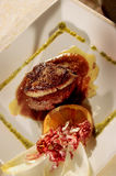 Typical Spanish Foie. In a restaurant Stock Photos