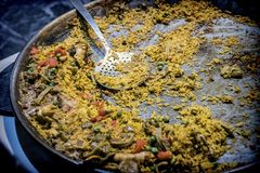 Typical Spanish food concept Royalty Free Stock Photography