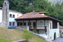 Typical spanish house in Asturias Royalty Free Stock Image