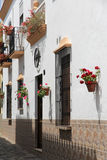 Typical Spanish houses Stock Image