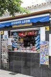 Typical spanish kiosk Royalty Free Stock Photos