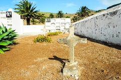 Typical Spanish Mediterrean Cemetery Royalty Free Stock Photos