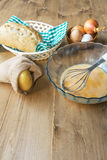 Typical Spanish potato omelet Stock Photography