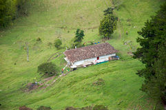 Typical Spanish style farm in Colombia Stock Photo