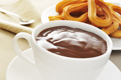 a typical Spanish sweet snack Stock Images