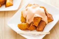 Patatas bravas Stock Photos