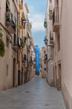 Typical Spanish village Royalty Free Stock Photography