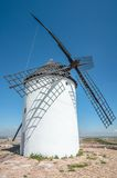 Typical spanish windmill Royalty Free Stock Photography