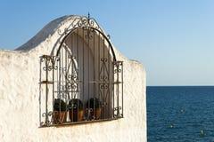 Free Typical Spanish Window In The Mediterranean Sea Stock Photos - 78389963