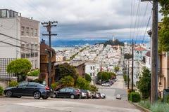 Street in San Francisco California Stock Image