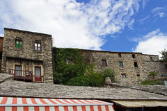 Typical Stone Houses in Mostar Royalty Free Stock Image