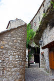 Typical Stone Houses in Mostar Stock Photo
