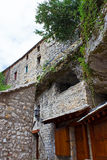 Typical Stone Houses in Mostar Royalty Free Stock Photography