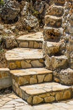 Typical stone steps Stock Photo