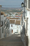 Typical street in Andalusia Royalty Free Stock Photos