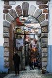 Typical Street Architecture Of Setubal Royalty Free Stock Image