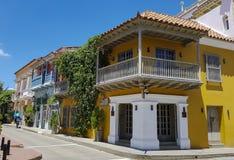 Colombian beautiful CITY. CARTAGENA Stock Image