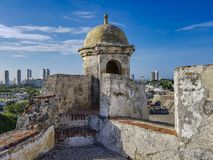 Colombian beautiful CITY. CARTAGENA royalty free stock image