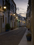 Typical street of Cordoba old town. Andalusia, Spain. Stock Image