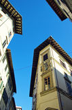 Typical Street in Florence, Italy Royalty Free Stock Photos