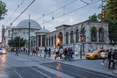 Typical Street Istanbul Stock Photography