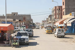 Typical street in Kairouan Royalty Free Stock Photography