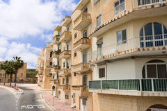 Typical street in Malta Stock Photos