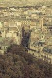 Typical street in Paris Stock Photos