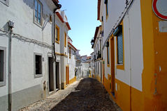 Typical street in south europe Royalty Free Stock Images