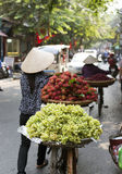 Typical Street Vendor in Hanoi Royalty Free Stock Images