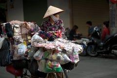 Typical street vendor in Hanoi,Vietnam. Stock Image