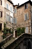 Typical Street View In Italy Royalty Free Stock Photos