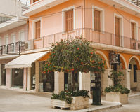 A typical street in Zante Town Stock Photography