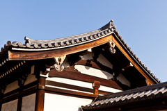 Structure of Japanese temple Stock Photos