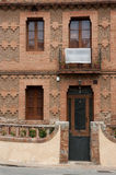 Typical style of Colonia Guell Royalty Free Stock Images