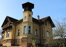 Typical Styrian villa. Typical Styrian early days villa Royalty Free Stock Photography