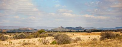 Typical Sub Saharan bushveld landscape Royalty Free Stock Photo