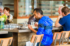 Typical Sunday at Mercantile restaurant Royalty Free Stock Image