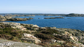 Typical swedish landscape Stock Image