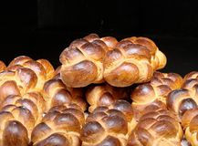 Typical swiss bread Stock Image