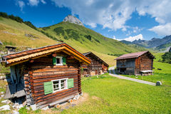 Typical Swiss Chalet Royalty Free Stock Images
