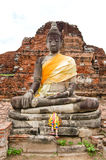 Typical Thai Buddha Statue Stock Photography
