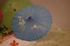 Typical Thai umbrellas Royalty Free Stock Photos