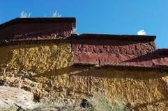 Typical tibetan buildings in Lhasa,Tibet Stock Photos