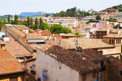 Typical town of  Basque Country.  Estella-Lizarra Stock Photography