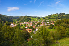 Typical town from Cantabria, Spain Royalty Free Stock Image